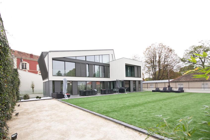 Contre courant 39 cr teil 94 habitat projet architecte - Piscine naturelle autoconstruction creteil ...