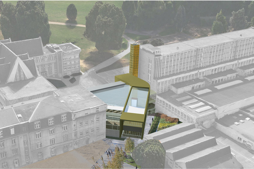 la salle passy buzenval rueil malmaison 92 scolaire projet architecte. Black Bedroom Furniture Sets. Home Design Ideas